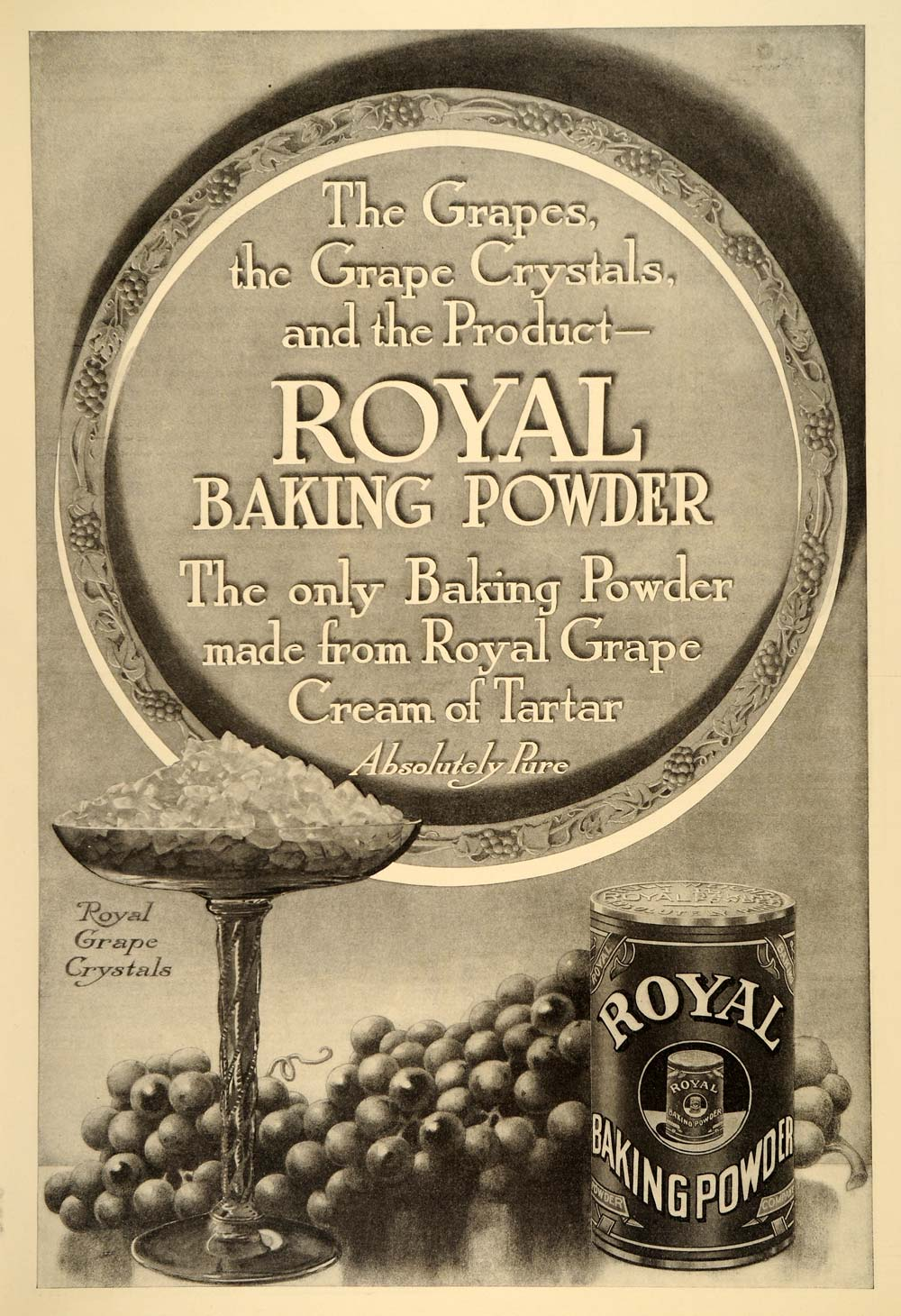 Advertising-print Merchandise & Memorabilia 1914 Royal Baking Powder Advertisement