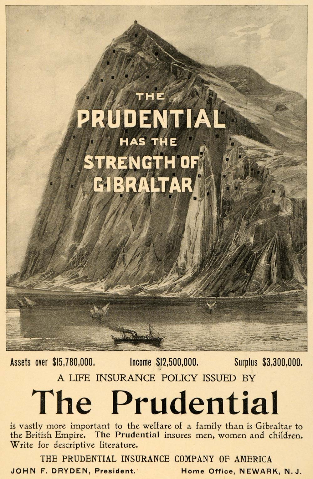 The Rock Of Gibraltar Is Featured In The Logo Of Which Company