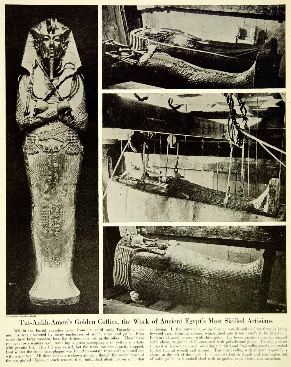 egyptian mummies coffins - photo #30
